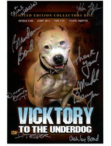 Signed Vicktory Poster