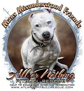 All or Nothing Pit Bull Rescue T-Shirt