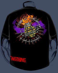 HARDNOX / ALL OR NOTHING COLLABORATION SHIRT!