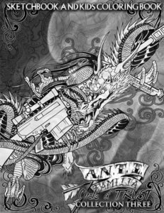 A.N.T.I Familia - All or Nothing Sketchbook Collection 3
