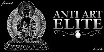 Anti Art Elite Drawn Buddha Shirt