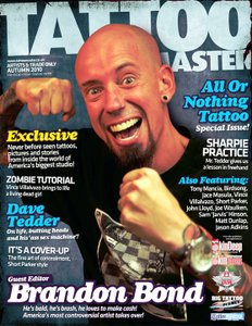 All or Nothing Tattoo Issue of Tattoo Masters Magazine:Signed