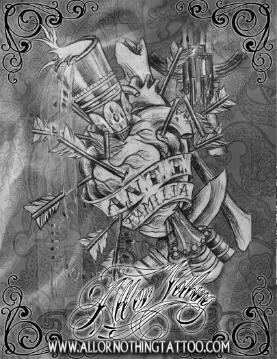 A.N.T.I Familia - All or Nothing Sketchbook Collection 3 - Click Image to Close