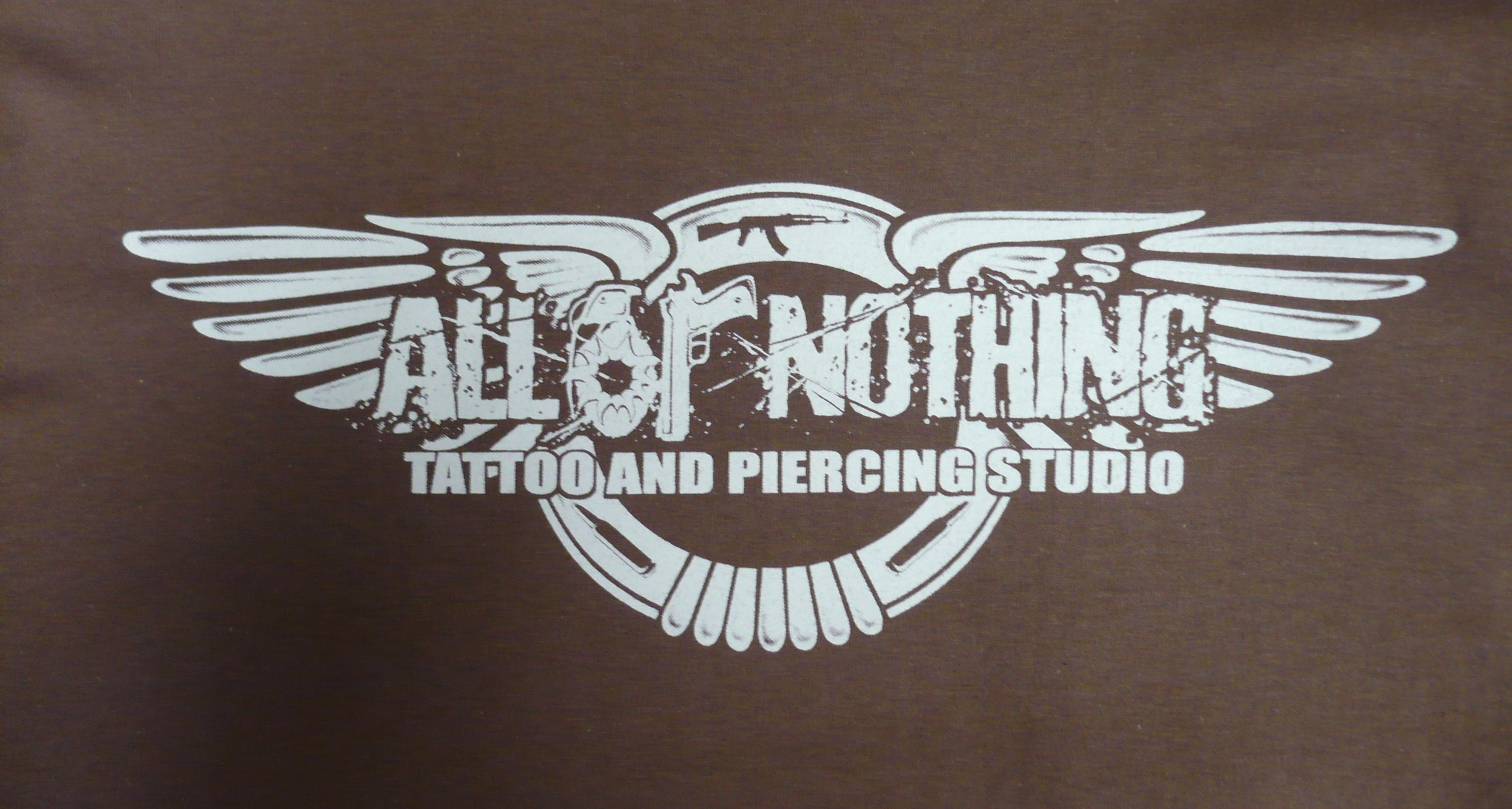 All Or Nothing Bentley Style T-Shirt Brown - Click Image to Close