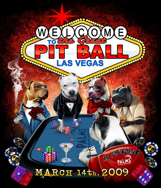The Great Pit Ball Artwork Signed by Brandon Bond - Click Image to Close