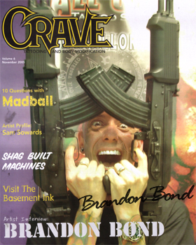Limited Edition Signed Crave Magazine. - Click Image to Close