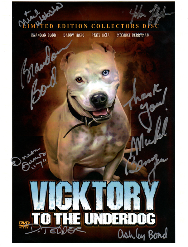 Signed Vicktory Poster - Click Image to Close
